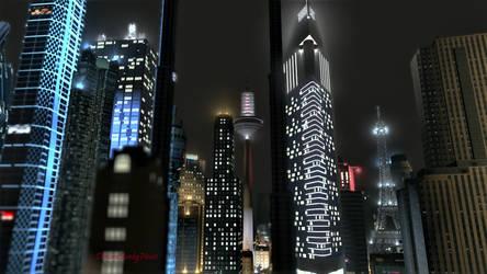 Markham Lights by DominoPunkyHeart