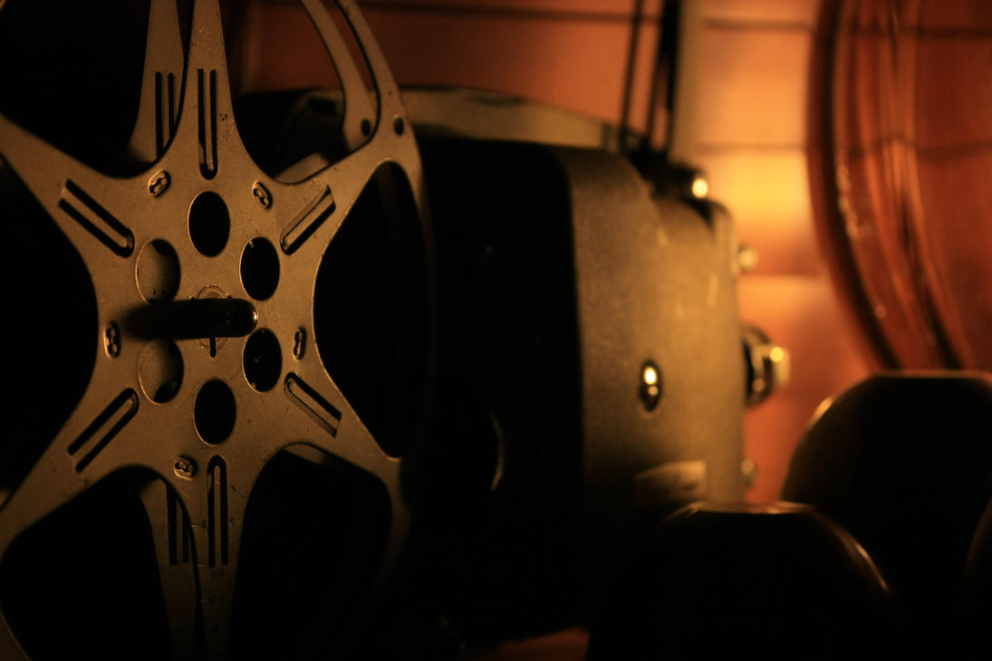 old film projector by danielh85