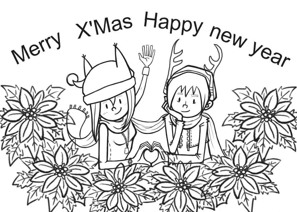 2015 Merry Chrismas :D by SharonAnkh