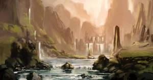 Waterfalls by GoatsForBreakfast