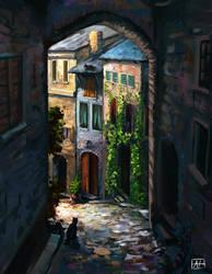 Stray street