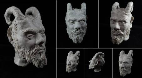 Monster Clay Sculpture practice