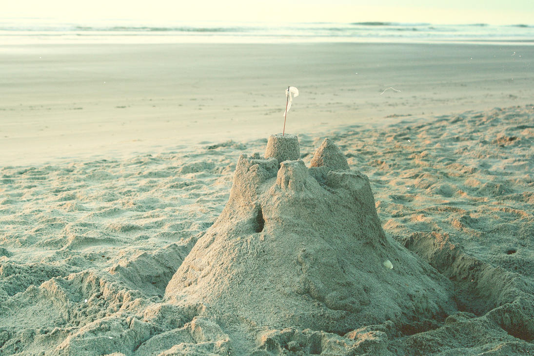 sandcastles by awkwardUneecorn