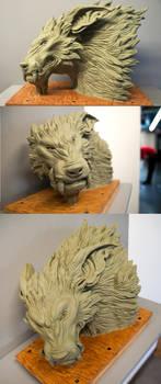 Fenris Sculpture