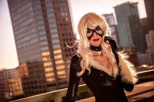 Black Cat - Cat got your tongue? by nihilistique