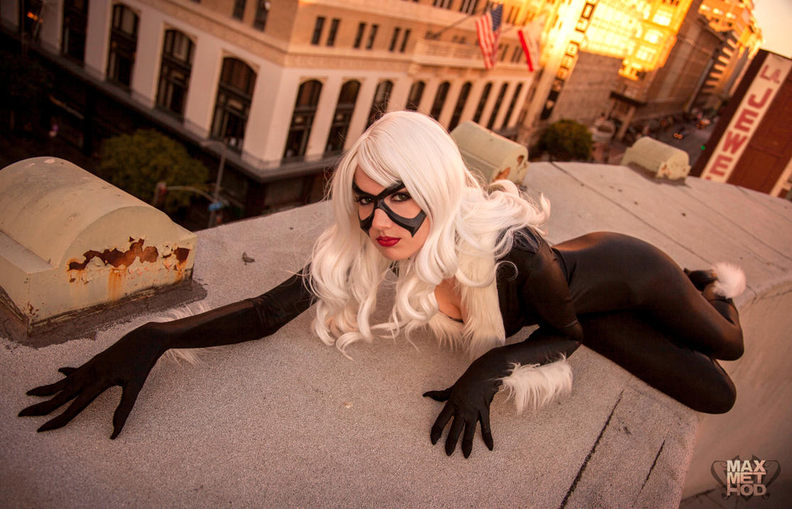 Black Cat - Rooftop by nihilistique