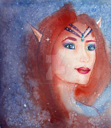 Starchild: born from nebula
