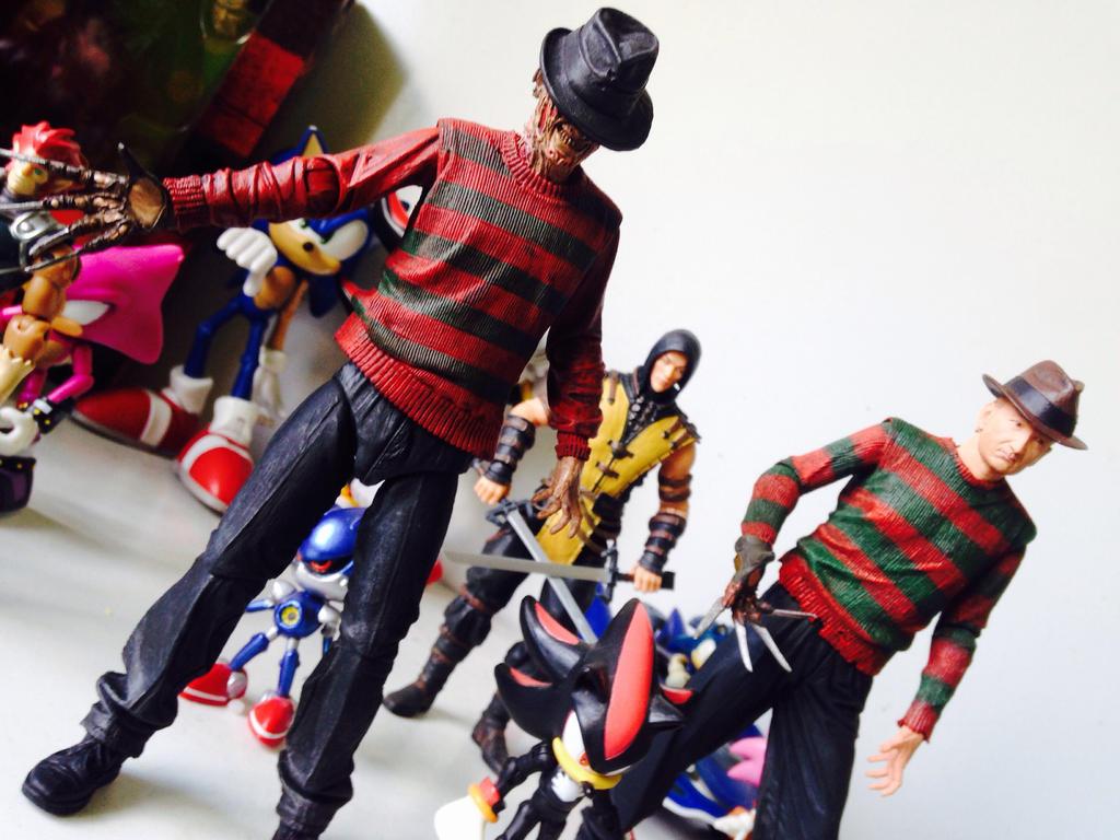 Demon Freddy Toys : Freddy krueger figures by demonicpirate on deviantart