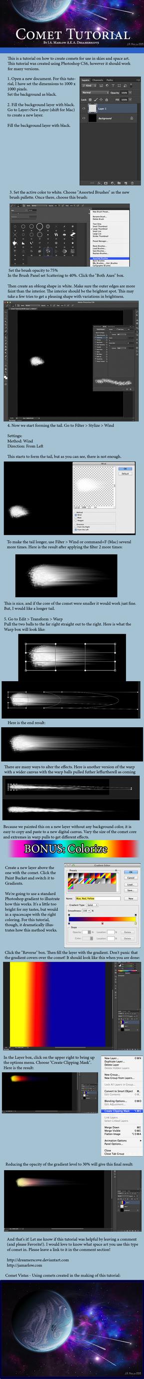 Comet Tutorial by JAMarlow