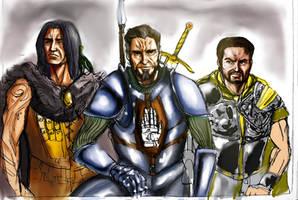 Keldorn, Anomen y Cernd_color by deviancanopus