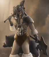 Rexxar the Beastmaster by thesacred0ne