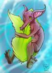 Flufftail-lizard birth