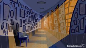The Catxorcist Hallway