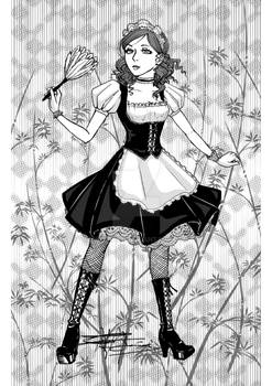 Art trade: French Maid
