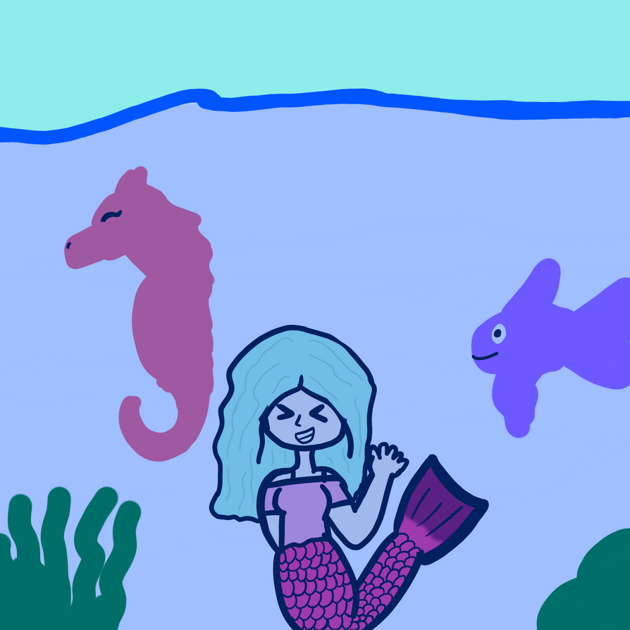 Under The Sea(Event 2) by SamiTheDreamer