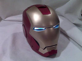 Iron Man helmet by dragostat2