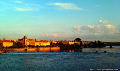 One evening in Prague by Shaany