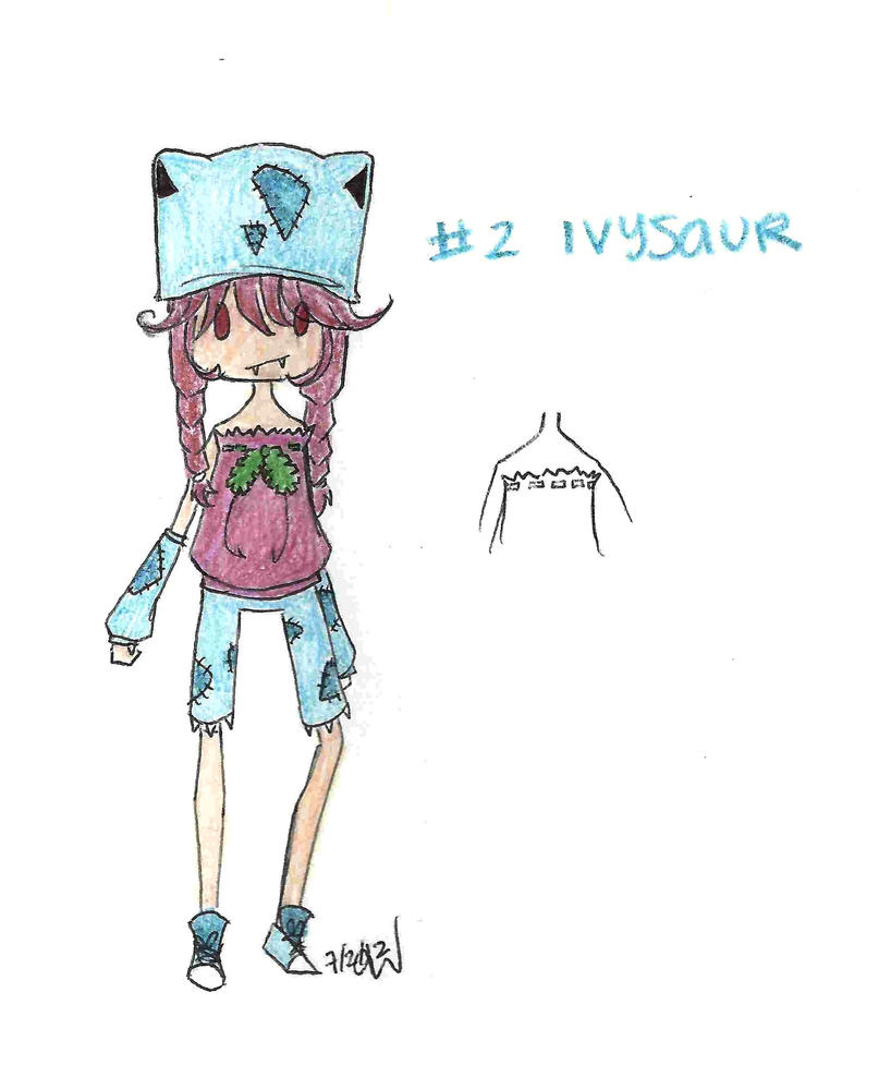 Day 184: PokeFashion - Ivysaur by Falling-Wish