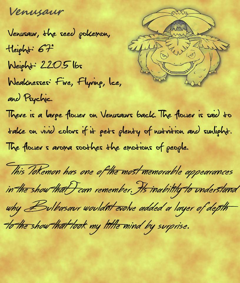 Venusaur- page 4 by KburnsF