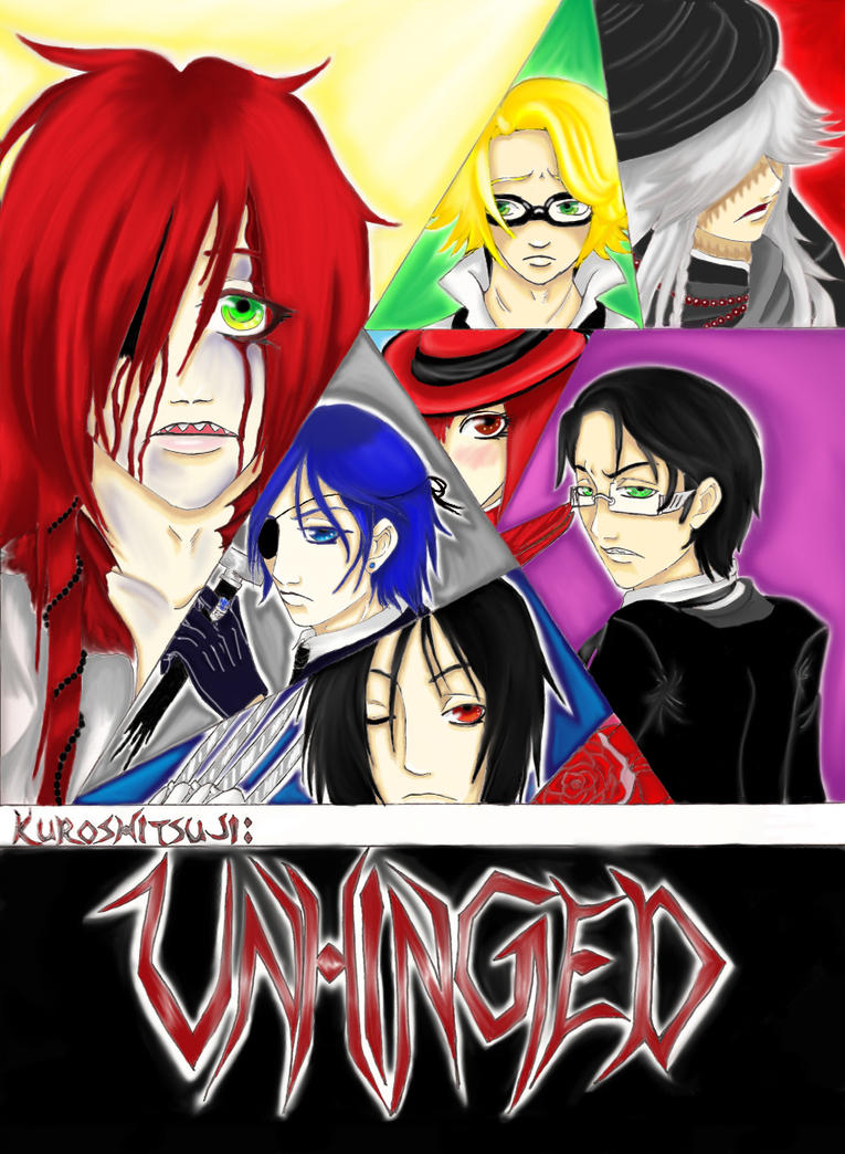 Unhinged, Ch1 Cover Coloured by FaithBringsDeath