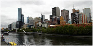 City on the Banks of Yarra