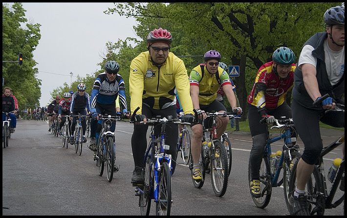 Bicycle Race I