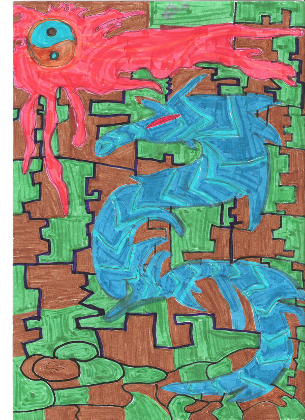 Water Dragon by TURBORAY