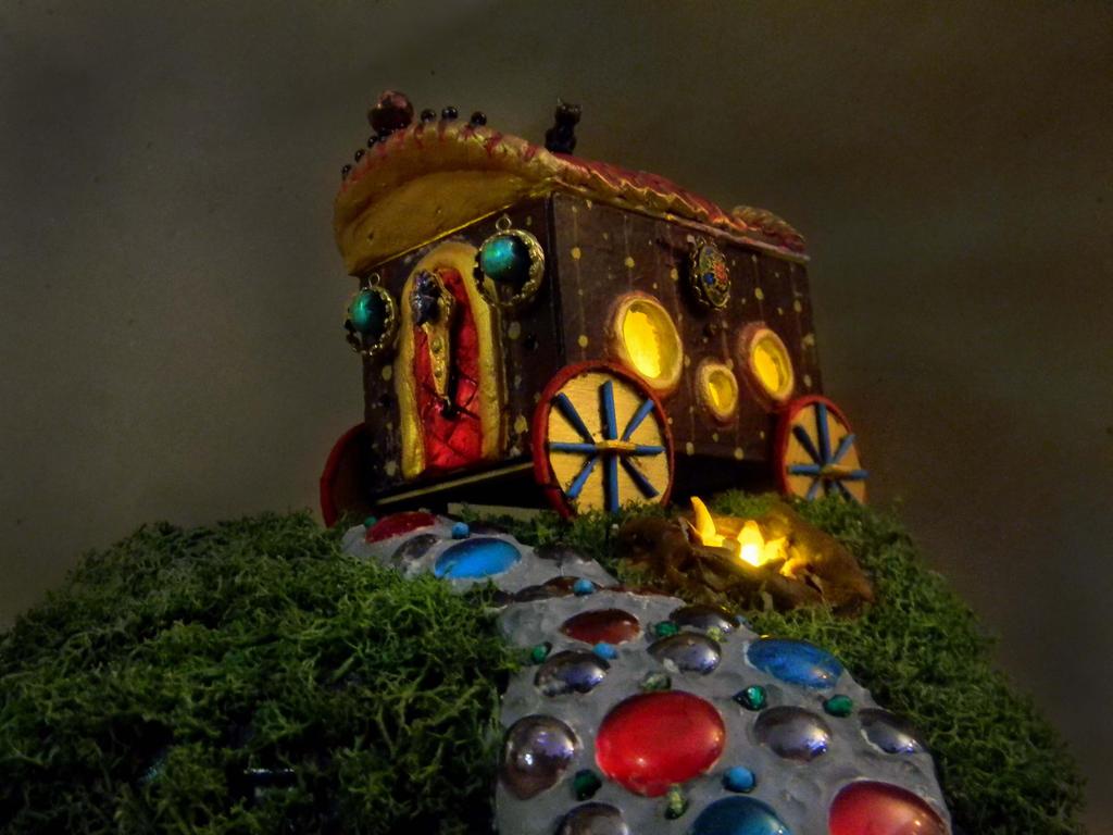 Gypsy Caravan by veronicarockstrom