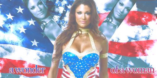 WWE - Eve, Wonder Diva by KamenRiderReaper