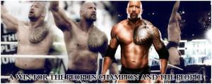 WWE: The Rock's Victory, WM28