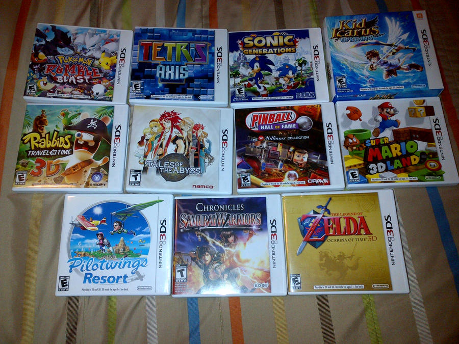 Nintendo 3DS Games Collection
