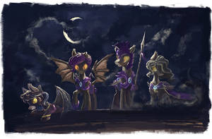 Night Guard special operations team by Plainoasis