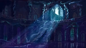 Canterlot Tower at night