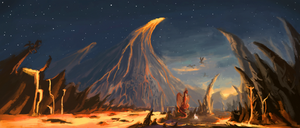 Dragonfang mountains