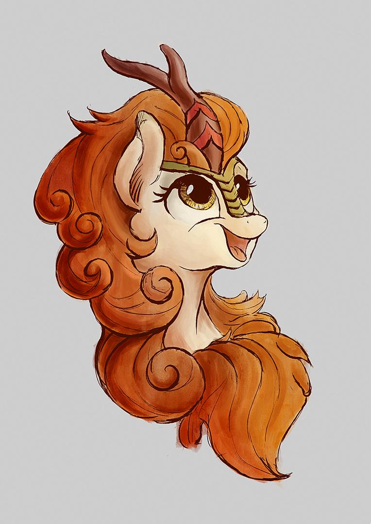 Autumn Blaze portrait by Plainoasis