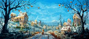 Winter by Plainoasis