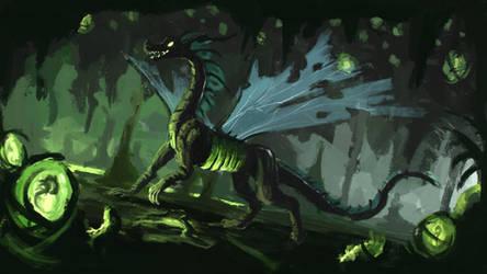 Chrysalis Dragon