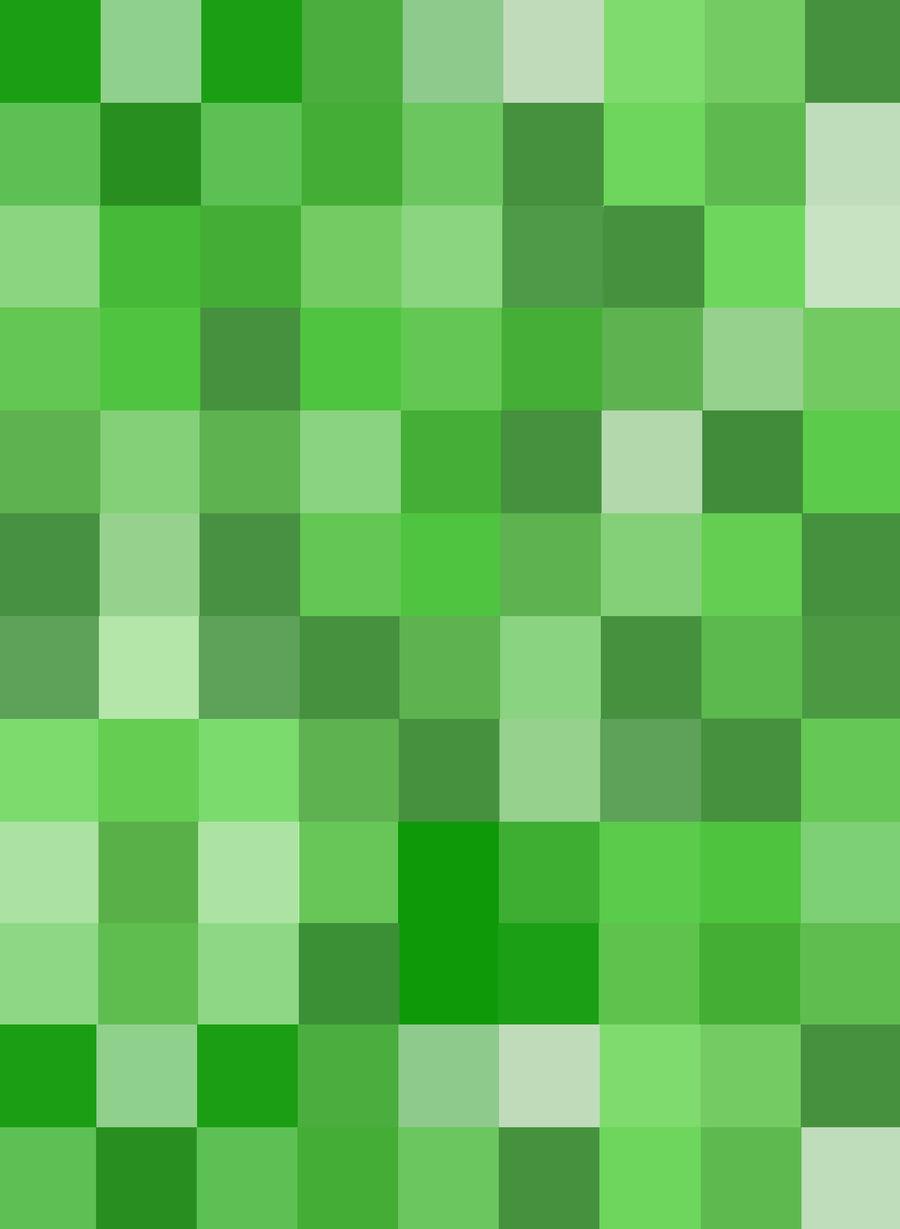 Minecraft - Creeper Texture