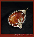 Dragon-fly pendant