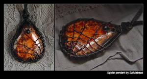 spider pendant by bodaszilvia