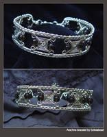 Arachne bracelet by bodaszilvia