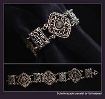 Scheherazade bracelet by bodaszilvia