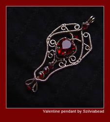 Valentine pendant by bodaszilvia