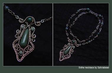 Sidhe necklace by bodaszilvia