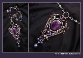 Medea necklace by bodaszilvia