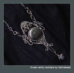 sweet vanity necklace by bodaszilvia