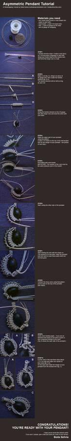 wirewrapped pendant tutorial