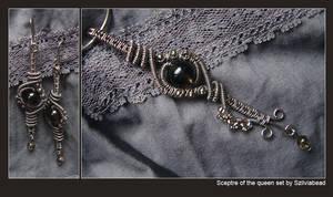 Sceptre of the queen set