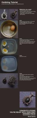 Oxidizing jewelry tutorial by bodaszilvia