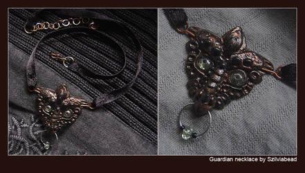Guardian necklace by bodaszilvia
